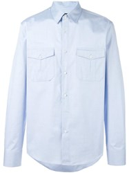 Gucci Fitted Cambridge Shirt Blue