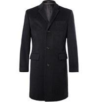 J.Crew Ludlow Wool And Cashmere Blend Coat Navy