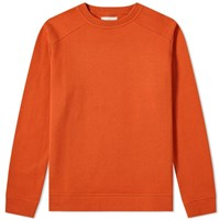 Oliver Spencer Robin Crew Sweat Orange
