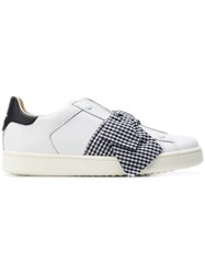Moa Master Of Arts Bow Embellished Sneakers White