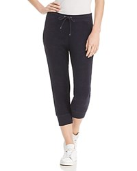 Marc New York Performance Terry Cloth Cropped Jogger Pants Midnight