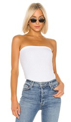 N Philanthropy Carolina Bodysuit In White.