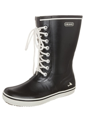 Viking Retro Light Wellies Black
