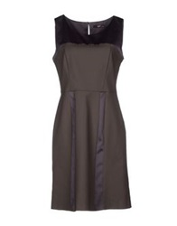 Ajay Short Dresses Dark Green
