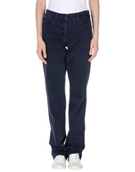 Cappopera Denim Denim Trousers Women Dark Blue