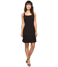 Rsvp Harvest Fit And Flare Dress Black Women's Dress