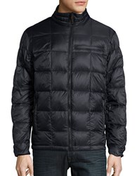 Hawke And Co Packable Quilted Down Jacket Black