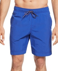 Tommy Hilfiger Core The Tommy Swim Trunks Apple Red