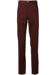 Pt05 Slim Fit Chinos Red