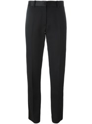 Victoria Beckham Straight Trousers Black