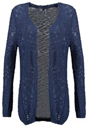 S.Oliver Denim Cardigan Washed Blue