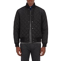 Barneys New York Men's The Ridge Quilted Bomber Jacket Blue