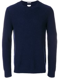 Gant Rugger Pineapple Knit Jumper Blue