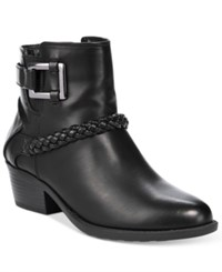 Easy Street Shoes Bridle Booties Women's Black