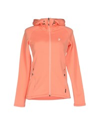 Peak Performance Topwear Sweatshirts Salmon Pink