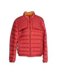 Piquadro Down Jackets Red