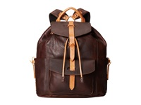 Will Leather Goods Rainier Backpack Brown Backpack Bags