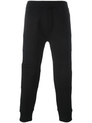 Neil Barrett Ribbed Sweatpants Black