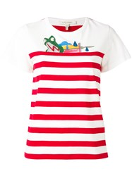 Marc Jacobs Julie Verhoeven Striped T Shirt White