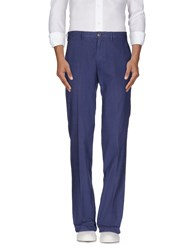 Henry Cotton's Trousers Casual Trousers Men Pastel Blue