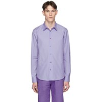 Paul Smith Blue Charm Slim Fit Shirt 46 Blue