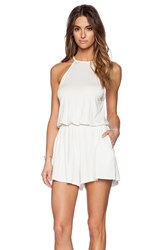 Rachel Pally Dee Dee Playsuit Ivory