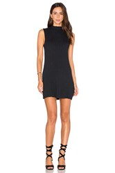 Rvca Banked Sweater Dress Black