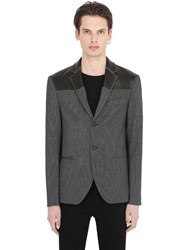 Var City Cotton And Wool Blend Jacket