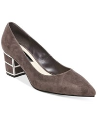 Steve Madden Steven By Buena Pointed Toe Pumps Women's Shoes Grey