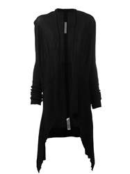 Rick Owens Waterfall Cardigan Black