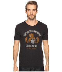 Lucky Brand Whiskey Bent Graphic Tee Jet Black Men's T Shirt