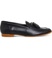 Office Petra Leather Loafers Black Leather