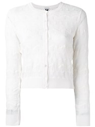 M Missoni Knitted Jacket White