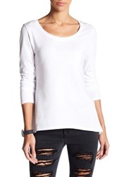 Joe's Jeans Letty Cross Back Tee White