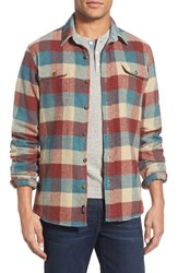Men's Faherty 'Durango' Regular Fit Check Shirt Jacket