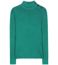 Etoile Isabel Marant Destiny Turtleneck Sweater Green