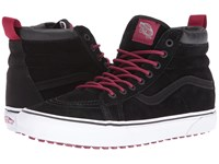 Vans Sk8 Hi Mte Mte Black Beet Red Skate Shoes
