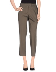 Akris Punto Casual Pants Dark Brown