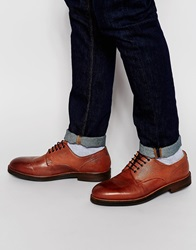 H By Hudson Challow Derby Shoes Brown