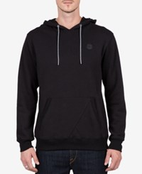 Volcom Men's Pull Over Hoodie Black