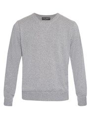 Dolce And Gabbana Long Sleeved Cashmere Sweater