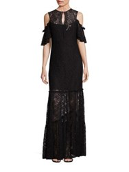 Nanette Lepore Song Lace Cold Shoulder Gown