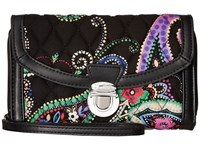 Vera Bradley Ultimate Wristlet Kiev Paisley Clutch Handbags Multi