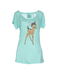 Duck Farm Topwear T Shirts Women Light Green