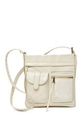Hobo Crusade Leather Crossbody Magnolia