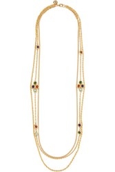 Ben Amun Gold Tone Stone Necklace