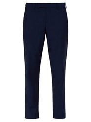 Paul Smith Soho Wool And Mohair Blend Suit Trousers Navy