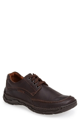 Josef Seibel 'Kongo' Moc Toe Derby Men Moro Brown
