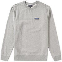 Patagonia P6 Label Crew Sweat Grey