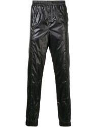 Misbhv Embroidered Logo Trousers Black